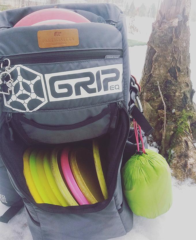 Frisbeegolf-reppu