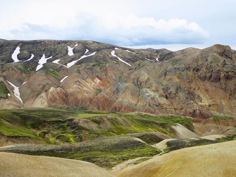 Islantilaista maisemaa