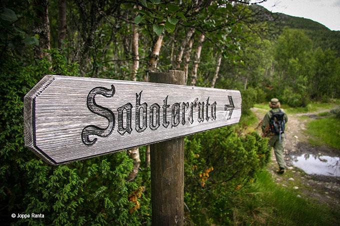 Norjalaisen Telemarkin sabotaasipolku seuraa sodanaikaista reittiä. Aiheesta pyörii parhaillaan FEM-kanavalla upea sarja.