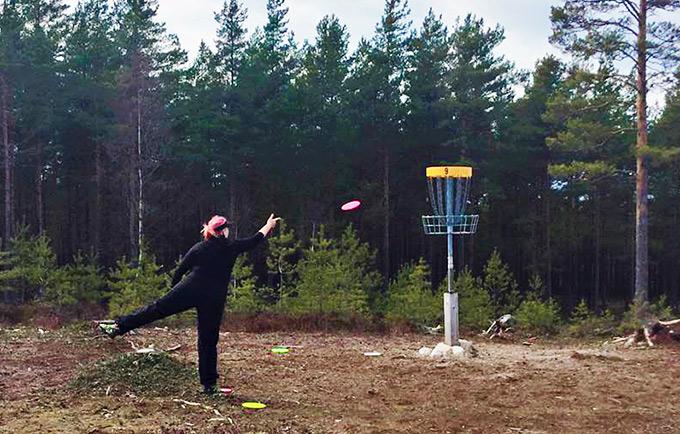 Puttaus, frisbeegolfin tärkein heitto