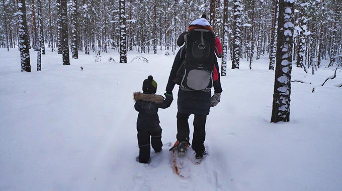 Talviretki lasten kanssa