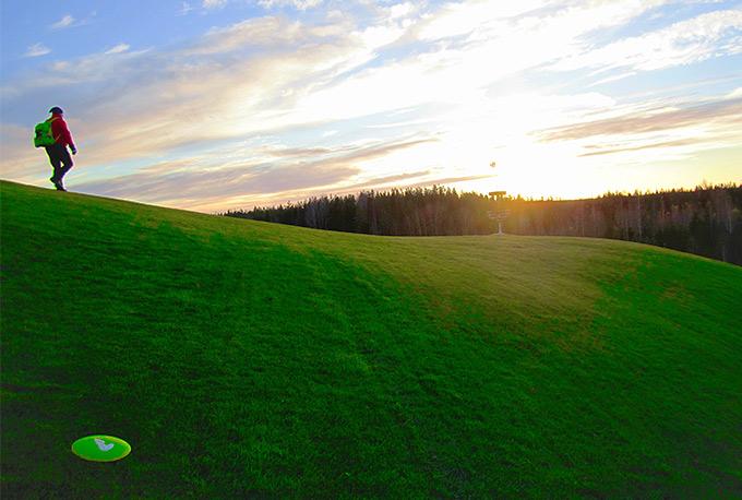 Suomen kauneinta frisbeegolf-maisemaa
