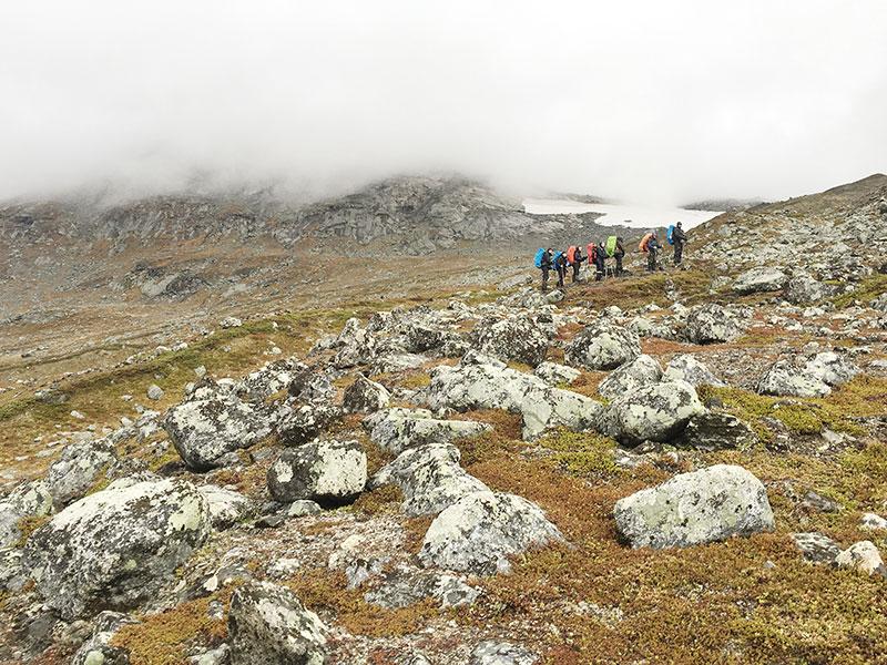 Vaeltajat Sarekissa