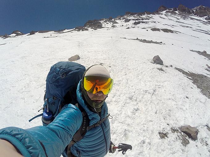 Vuorikiipeilyä Aconcagualla