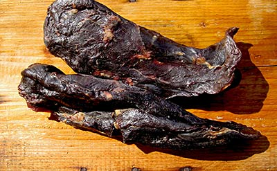 Kuivattu liha - beef jerky