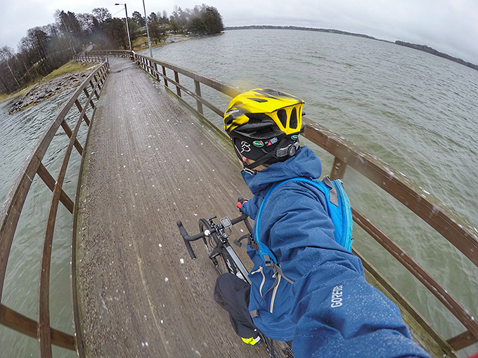 Pyöräily hyvää ulkoilua