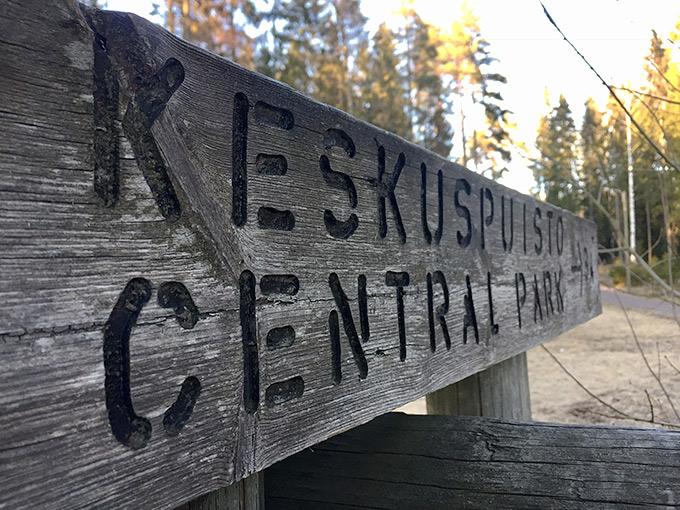 Päiväretki Espoon keskuspuistoon