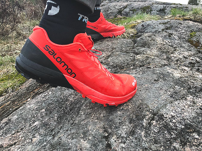 Salomon S-Lab Sense -kengät suunnistukseen