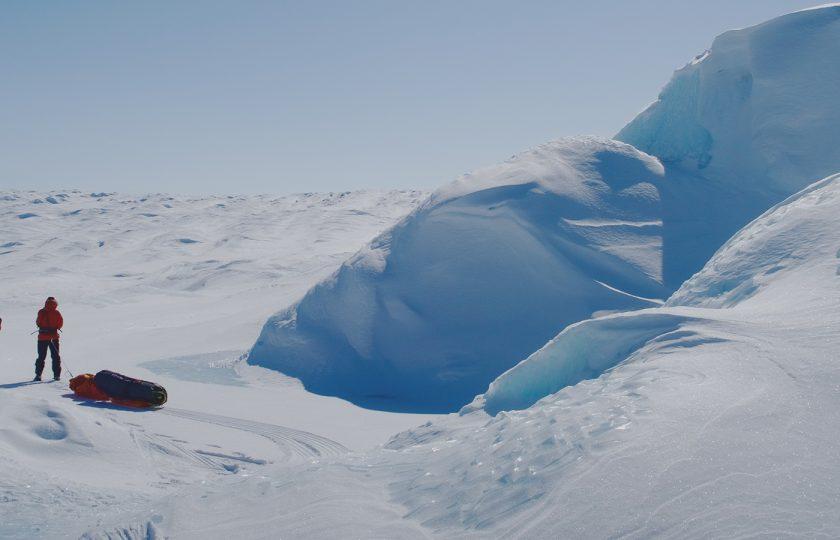 Hiihto yli Grönlannin