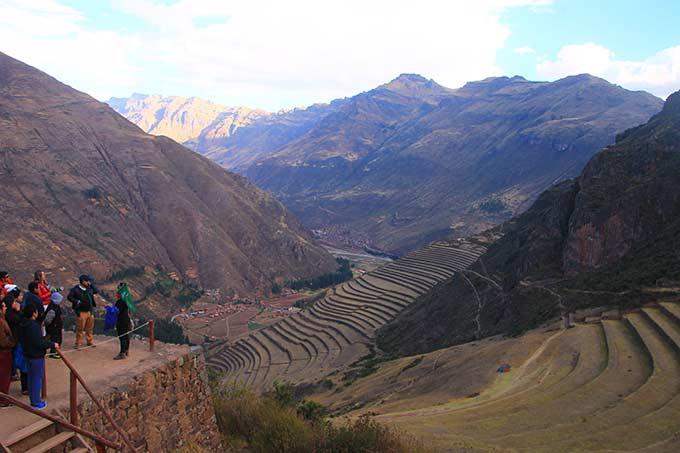 Näkymä Machu Picchulta