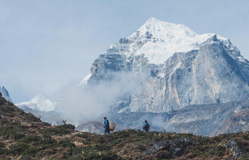 Unelmien vaellus Mt. Everestin perusleirille