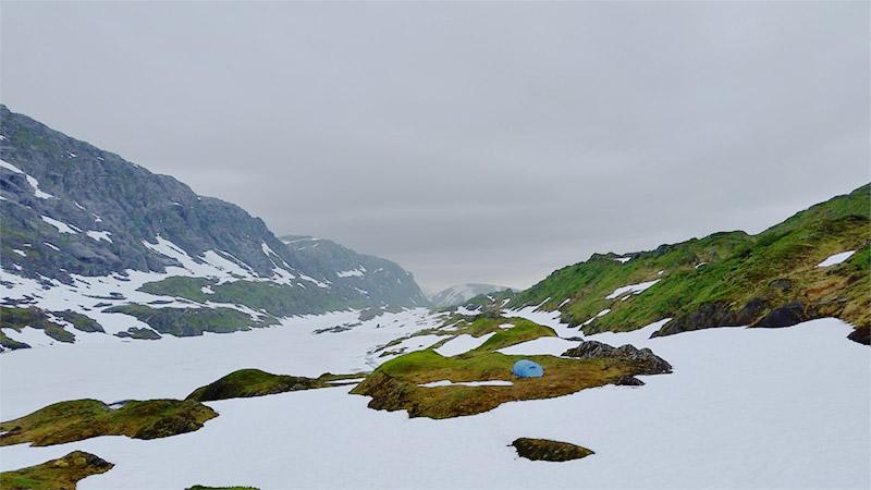 Glomdalen, Øvre Pikhaugvatnet