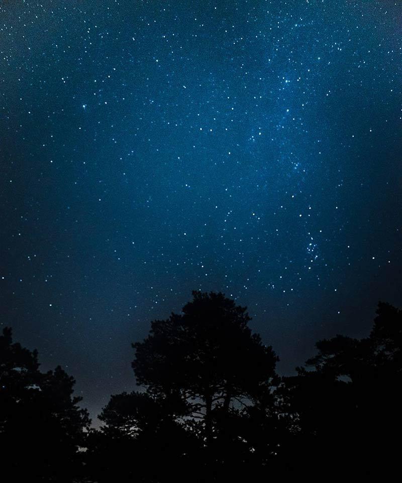 tähtikuvaus Porkkalassa