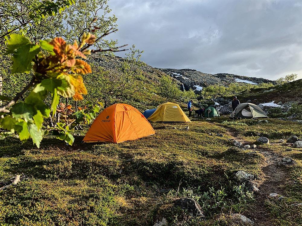 telttapaikka sarekissa