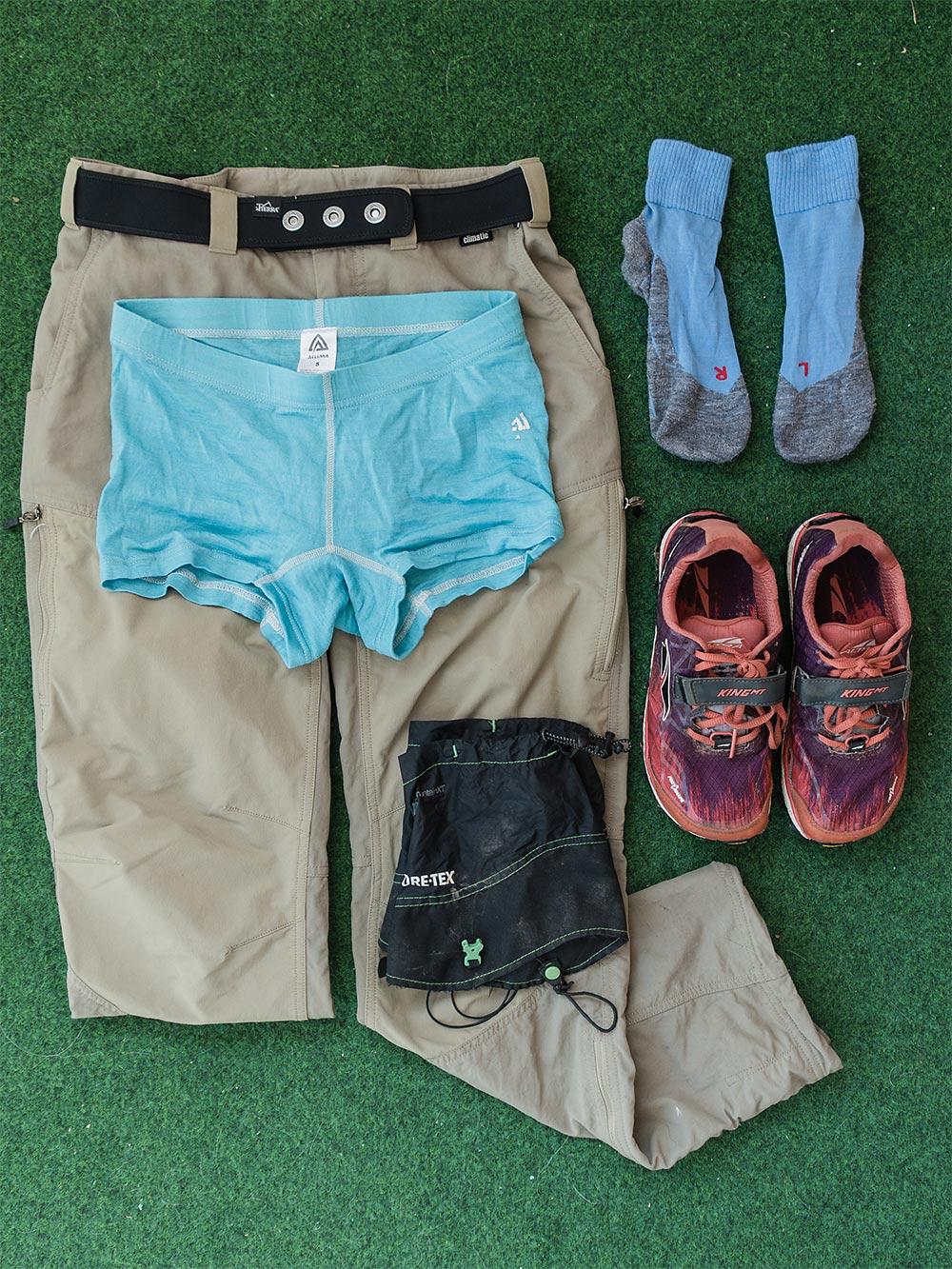 vaatteet vaellukselle