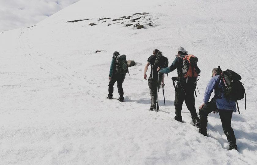 Huipulle Huippuvuorilla
