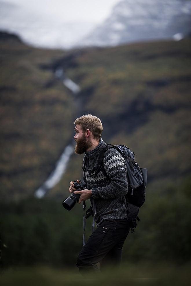 valokuvaus pohjois-norjassa