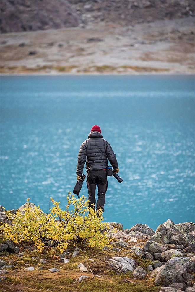 sininen järvi