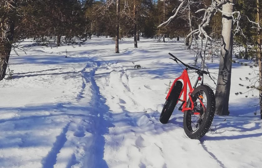 Fatbike-pyöräily talvella