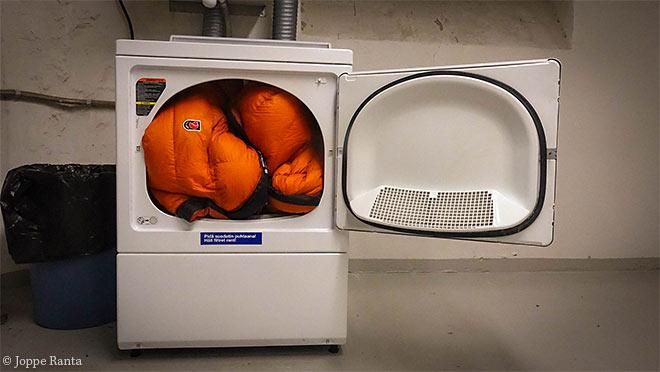 pese makuupussi isossa pesukoneessa