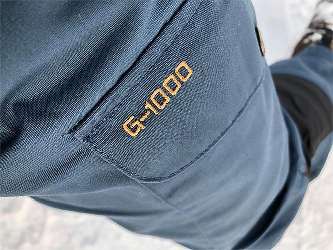 Erittäin luja G-1000® Eco-kangas
